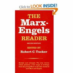 The Marx-Engels Reader (Second Edition): Karl Marx, Friedrich Engels, Robert C. Tucker: 9780393090406: Amazon.com: Books