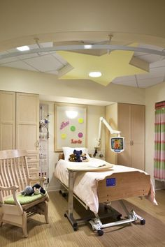Two bedder ward at The Farrer Park Hospital Singapore by DP Design