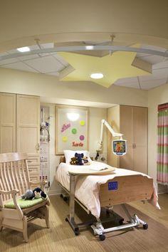 Single resident room, Elizabeth Seton Pediatric Center, Yonkers, N.Y.