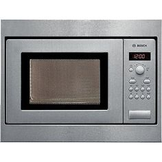 Bosch Hmt75m551b Microwave Oven Built In 17 Litres 800 W Stainless Steel Herd