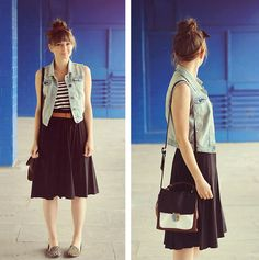 Ragtop Car - Noisettes (by Maddy C) http://lookbook.nu/look/3965544-Ragtop-Car-Noisettes
