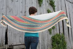 Shawl / Wrap - I LOVE this design.