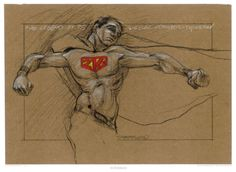 """""""superman 216"""" by Derek Hess  Offset poster, 18.5"""" x 25.5"""", signed edition of 422."""