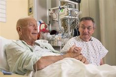 Tough-as-nails Vietnam vet puts life on the line to donate kidney to old war buddy Tough As Nails, Vietnam Veterans, Good People, War, Couple Photos, Ice Cream, Life, Image, Couple Shots