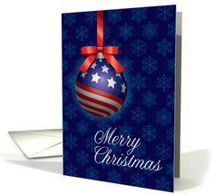 Patriotic Christmas Background.Patriotic Christmas Cards