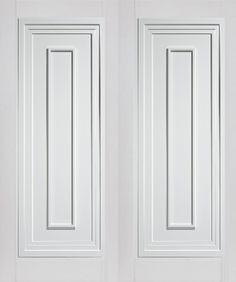 Perfect Atlanta White Internal Door Pair #whitedoors · Internal French DoorsWhite  ...