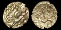 Corieltauvi - South Ferriby Beaded Anchor Type Gold Stater