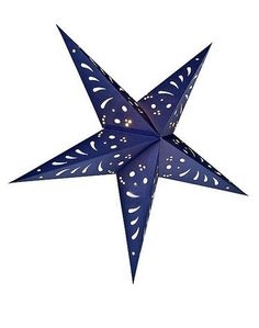 Luna Bazaar Paper Star Lantern Navy Blue) - For Home Decor, Parties, And Holiday Decorations photo ideas from NEO Home Decor Japanese Paper Lanterns, Paper Star Lanterns, Battery Powered Lanterns, Navy Home Decor, Novelty Lighting, Handmade Lamps, Lantern Lamp, Star Decorations, Wedding Decorations