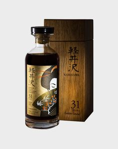Karuizawa Golden Geisha 31 Year Old, this is one of the Single Sherry Cask Japanese Whiskies and one of the Golden Geishas released. Bottled by Elixir Distillers. One of the world's rarest whisky.