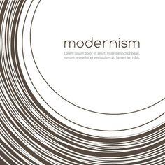 Modernist design.