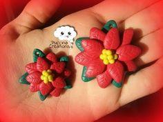 ▶ Tutorial Stella di Natale - Christmas Poinsettia (Fimo/Cernit/Premo/Polymer Clay) - YouTube