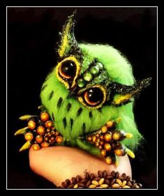 -SOLD-Posable Kiwi Owlet by Wood-Splitter-Lee.deviantart.com on @deviantART