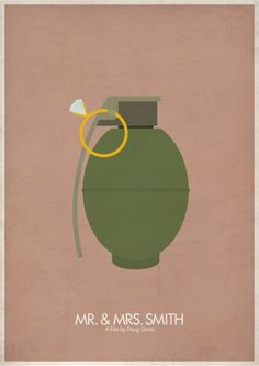 Awesome Minimalist Movie Posters. Part 2 (31 pics).