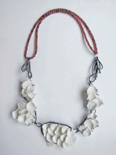 Secret Life of Jewelry - A Universe of Handcrafted Art to Wear: Porcelain and Sterling Jewelry: Pauline Edie