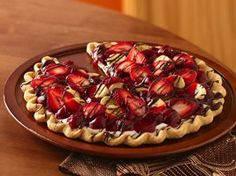 Banana Split Tart Recipe from Betty Crocker