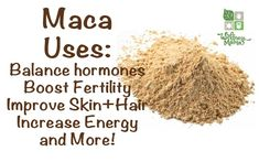 As Maca is a root vegetable in the Radish family, it can safely be taken in small amounts daily. It is available in powder form (least expensive option) or in capsules.    The powder can be mixed in to smoothies or coffee, or capsules can be easily consumed.
