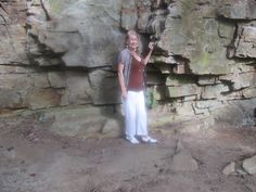 I walked 25 (or so) steps down the rock steps to a walking trail down the bluff of Sewanee, Tennessee. A small College Town nestled in Middle TN between Chattanooga and Nashville, TN on I-24. Sewanee is a beautiful historical town for tourist. This date is Oct 2015. This is Me that Created the Sewanee, TN Board.