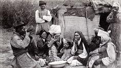 Archival Photograph - Kyrgyz Family