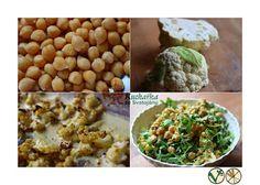 Kuchařka ze Svatojánu: CIZRNOVÝ SALÁT S PEČENÝM KVĚTÁKEM Vegetables, Food, Meal, Essen, Vegetable Recipes, Hoods, Meals, Eten