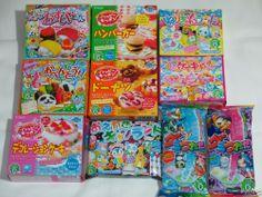 Kracie 10pcs Set Happy Kitchen Popin' Cookin' Gummy Tsureta Japanese DIY Candy! #Kracie