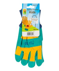 This Blue & Yellow Small Garden Gloves is perfect! #zulilyfinds