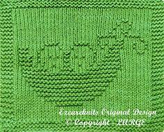 Knitting Pattern PEAS in a POD PDF by ezcareknits on Etsy