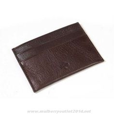 Mulberry Mens Wallet Dark Coffee Fast Shipping