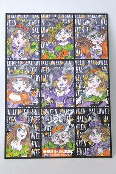 Pocket Letter Heksen met illustratie's van Rick St. Dennis