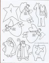 Resultado de imagen para patron corona patchwork con nacimiento