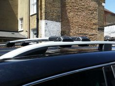 CITROEN BERLINGO VAN ALUMINIUM ROOF RAIL BARS 2008 ONWARD + LOCKABLE CROSS BAR
