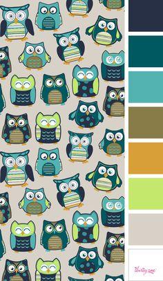 Hoo's Happy – a super-cute print you'll want to show off all year long!  www.mythirtyone.com/missyz70
