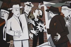 Jack Ruby shots Lee Harvey Oswald on live television by Chris Cook
