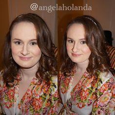 Congratulations Lauren!  #makeupandhairbyangelaholanda #temptuairbrush #airbrushmakeup #wwwangelaholandacom #makeupartist #hairstylist