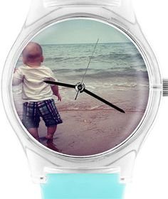 InstaWatch - Use Instagram photos to create a custom watch. What a great gift idea! via @Real Simple