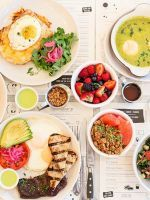 """The Ultimate Guide To Brunching In NYC #refinery29  http://www.refinery29.com/brunch-restaurants#slide-13  Champs Diner""""Oh man! I'm not even vegan but I love this spot. I don't know how they do it but their food is so good, my go to is the drunken cowgirl which is a mix up of 'eggs', veggie chili, 'cheese', and everything in between."""" — Alex Marino, Graphic Desi..."""
