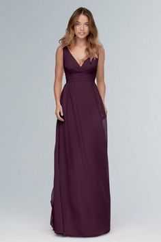 Watters & Watters Wtoo Bridesmaids Bridesmaid Dress 101 Aubergine Size 12