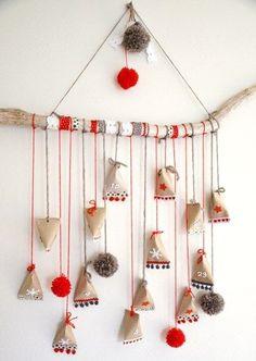 {DiY} Web ♥ with toilet paper rolls - Christmas stars - noel Diy Xmas, Easy Christmas Crafts, Handmade Christmas Gifts, Christmas Deco, Simple Christmas, All Things Christmas, Christmas Time, Christmas Stars, Advent Calenders