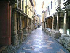 Antigua ruta del vino. Avilés. Asturias.Spain.
