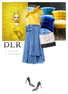 """""""dlirluxuryboutique"""" by saramoreira ❤ liked on Polyvore featuring Marques'Almeida, Rochas, Sonia Rykiel and Jimmy Choo"""