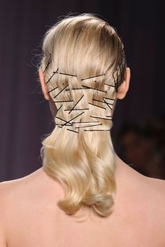 Zac Posen: Bobby Pins. Or as I call it, my hair every day.