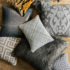 Discover Williams-Sonoma Home's faux fur pillows featured in exotic patterns and plush textures. Shop faux fur accent pillows for the couch or bed and create a cozy space.