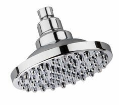 Reduces chlorine by 97% . Culligan RDSH-C115 RainDisc Showerhead with Filter, Chrome Finish - Amazon.com $29.99 Filter cartridge lasts 6 months and the filters are $11.65.