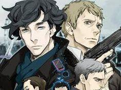 Related image Sherlock Anime, Film, Fictional Characters, Sherlock Holmes, Art, Image, Movie, Art Background, Film Stock