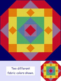 Siesta - cross stitch pattern designed by Susan Saltzgiver. Category: Quilts.