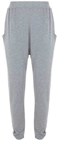 Silver Grey Jersey Trouser - slouchy jersey loungers for ever!