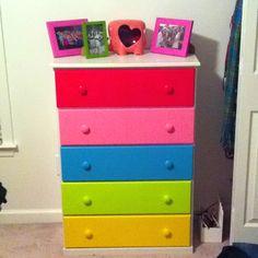 would be a cute closet dresser