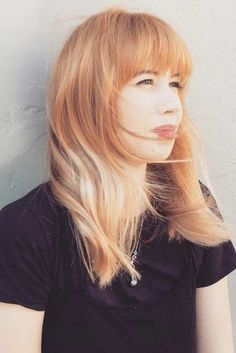 Fabulous Long Hair Hairstyles With Bang picture 4