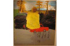 Clint Griffin | Parking Spots | Techniques mixtes sur toile (mixed techiques on canvas) |2006 Parking Spots, Collage, Artist, Painting, Canvas, Artists, Paintings, Draw, Collage Illustration