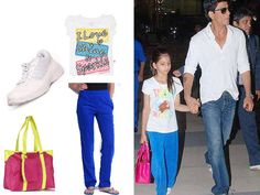 We decoded these kiddie looks and got you our favourites from their wardrobe for half the price. Time to take junior shopping! Star Kids, Kids Wardrobe, Celebrity Kids, Decoding, Limes, Bollywood Stars, Girls Image, Uber, Wardrobes