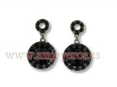 Pendientes Viceroy Fashion de metal, esmalte y cristal para mujer.  REFERENCIA: 5085E00010  Fabricante: Viceroy